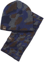 UGG Kids' Boys' Camo Beanie and Scarf Boxed Set