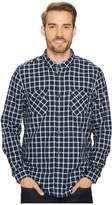 Timberland Long Sleeve Branch River Double Layer Plaid Shirt