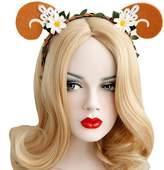 Christmas Party Kids Hair Hoop Ladies Rattan Claw Elk Snowflake Headband Festival Gift Urchart