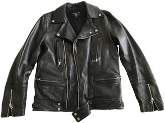 TOMORROWLAND Black Leather Leather jackets