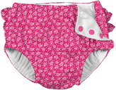 I Play Fuchsia Cabana Geometric Swim Diaper - Infant & Toddler