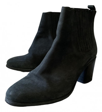 Opening Ceremony Black Suede Boots
