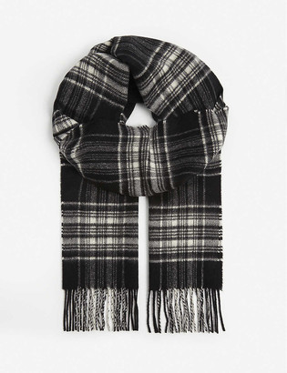 Johnstons Personalised cashmere scarf