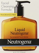 Neutrogena Fragrance Free Liquid, Facial Cleansing Formula, 8 Ounce