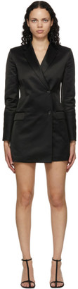 Helmut Lang Black Blazer Dress