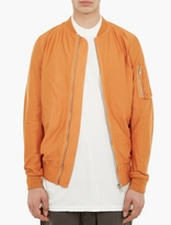 Orange Flight Jacket