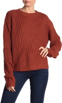 Dee Elly Crew Neck Dolman Sleeve Sweater