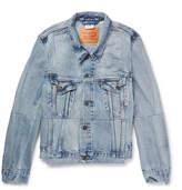 Vetements Levi's Slim-Fit Panelled Denim Jacket