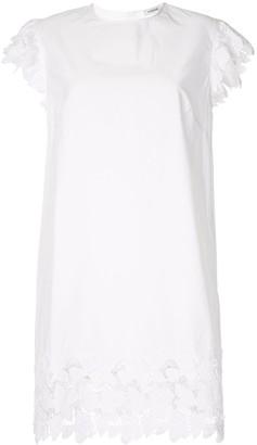 P.A.R.O.S.H. Lace-Trim Shift Dress