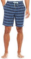 Daniel Cremieux Big & Tall Woven Plaid Pajama Shorts