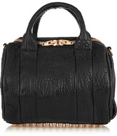 Alexander Wang Rockie Textured-leather Tote - Black