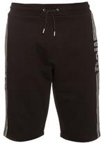 Mcq Alexander Mcqueen Stripe-print Cotton-jersey Shorts