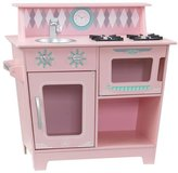 Kid Kraft Classic Kitchenette - Pink Playset
