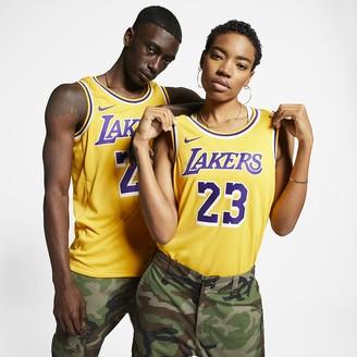 Nike NBA Swingman Jersey LeBron James Lakers Icon Edition