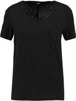 Monrow Marled jersey T-shirt