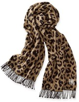 Mark And Graham Leopard Print Blanket Scarf