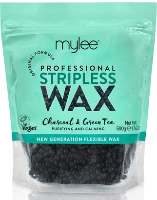 Mylee Charcoal & Green Tea Stripless Wax 500G