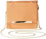 Charlotte Russe Gold-Tipped Mini Crossbody Bag