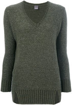 Lorena Antoniazzi V-neck jumper - women - Nylon/Polyamide/Cashmere/Metallic Fibre - 40