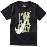 Nike Little Boys 4-7 I'm All Day Short-Sleeve Graphic Tee