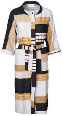 Libertine-Libertine Reason Powder Mix Dress - S - Black/White/Yellow
