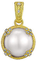 Judith Ripka Sterling & 14K Clad Round Mabe Pea