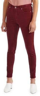 Miss Selfridge Lizze High Rise Super Skinny Cord Jeans