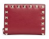 Valentino 'Rockstud' leather fold flap wallet