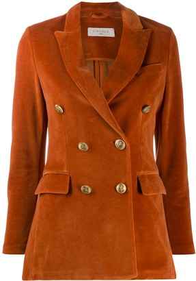 Circolo 1901 Zucca double-breast long blazer