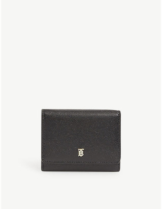 Burberry Sidney trifold leather wallet