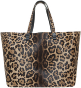 Victoria Beckham Leopard Shopper Tote