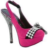 Bettie Page Women's Caroline - Fuchsia Heels