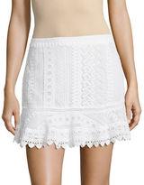 BB Dakota Lace Mini Skirt