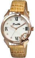 Xo Women's Bertha BR2307 - Cream Leather/White Wrist Watches