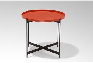 sohoConcept Padrera Tray Top Cross Legs End Table