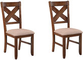 Asstd National Brand Lansford Set of 2 Upholstered Dining Chairs
