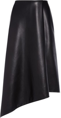 Alice + Olivia Jayla vegan leather skirt