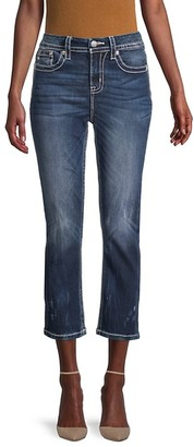 Miss Me Mid-Rise Curvy Cropped Jeans