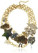 """Marc Jacobs Fall 2016"""" Statement Charm Necklace, 18"""" + 2"""" Extender"""