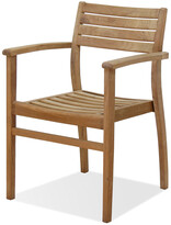 International Home Miami Amazonia Teak Set Of 2 Coventry Stacking Chairs