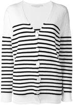 Stella McCartney striped cardigan - women - Cotton - 38