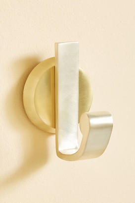 Anthropologie Alden Towel Hook By in Gold Size ALL