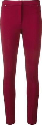 Emilio Pucci Bordeaux Pocket Detail Leggings