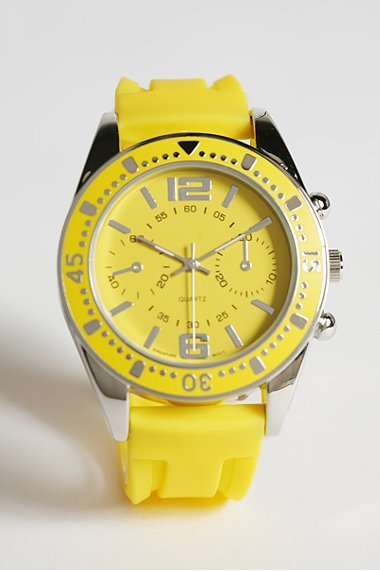 Urban Outfitters Rubber Watch