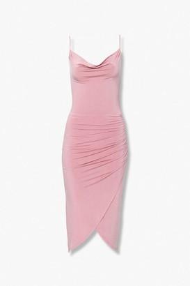 Forever 21 Cowl-Neck Cami Dress
