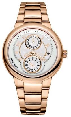 Philip Stein Teslar 31-ARGW-RGSSLadies WatchAnalogue QuartzWhite DialGold Bracelet Gold