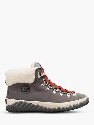 Sorel Out N About Suede Snow Boots, Quarry