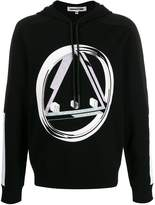 McQ Alexander McQueen graphic print hoodie