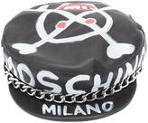 Moschino chain trimmed hat