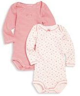 Petit Bateau Baby's Two-Piece Bodysuit Set